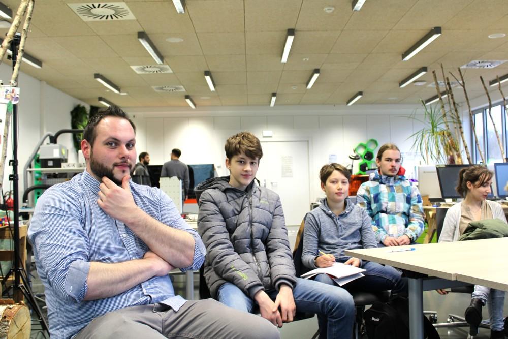 Gesamtschule Königs Wusterhausen_Ausflug in das VINN Lab der TH Wildau_Januar 2018_2