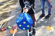 Balance-Spiele auf dem Schulhof